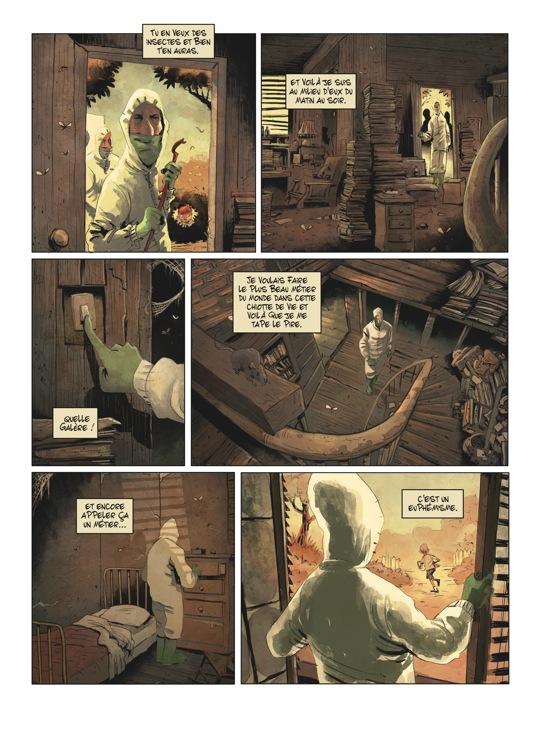Extrait n°2 de la bd tome 1 par Julien Gaet's