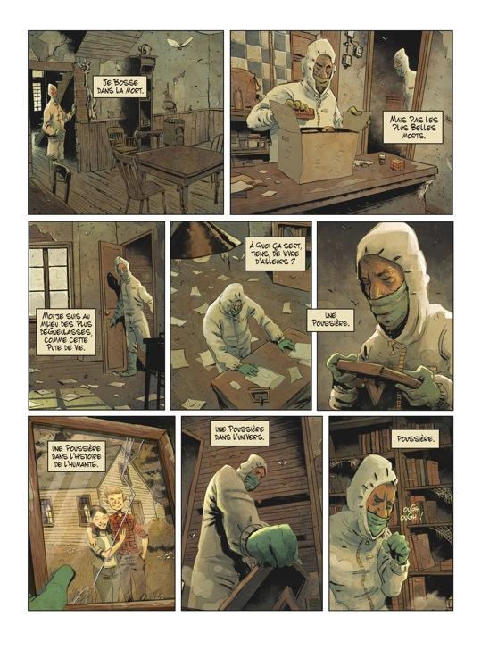 Extrait n°3 de la bd tome 1 par Julien Gaet's