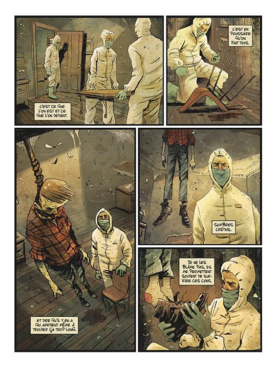 Extrait n°4 de la bd tome 1 par Julien Gaet's