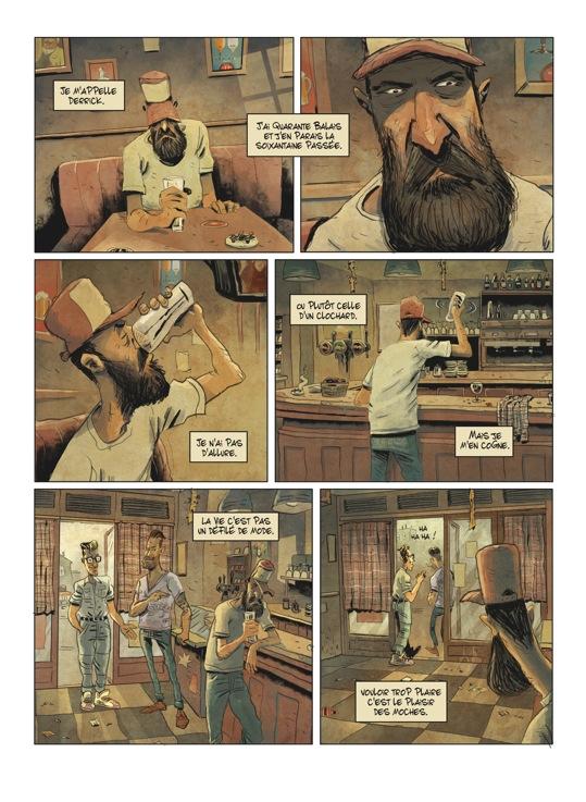 Extrait n°5 de la bd tome 1 par Julien Gaet's