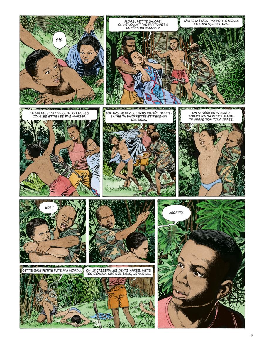 Extrait n°3 de la bd Kivu par Jean Van Hamme