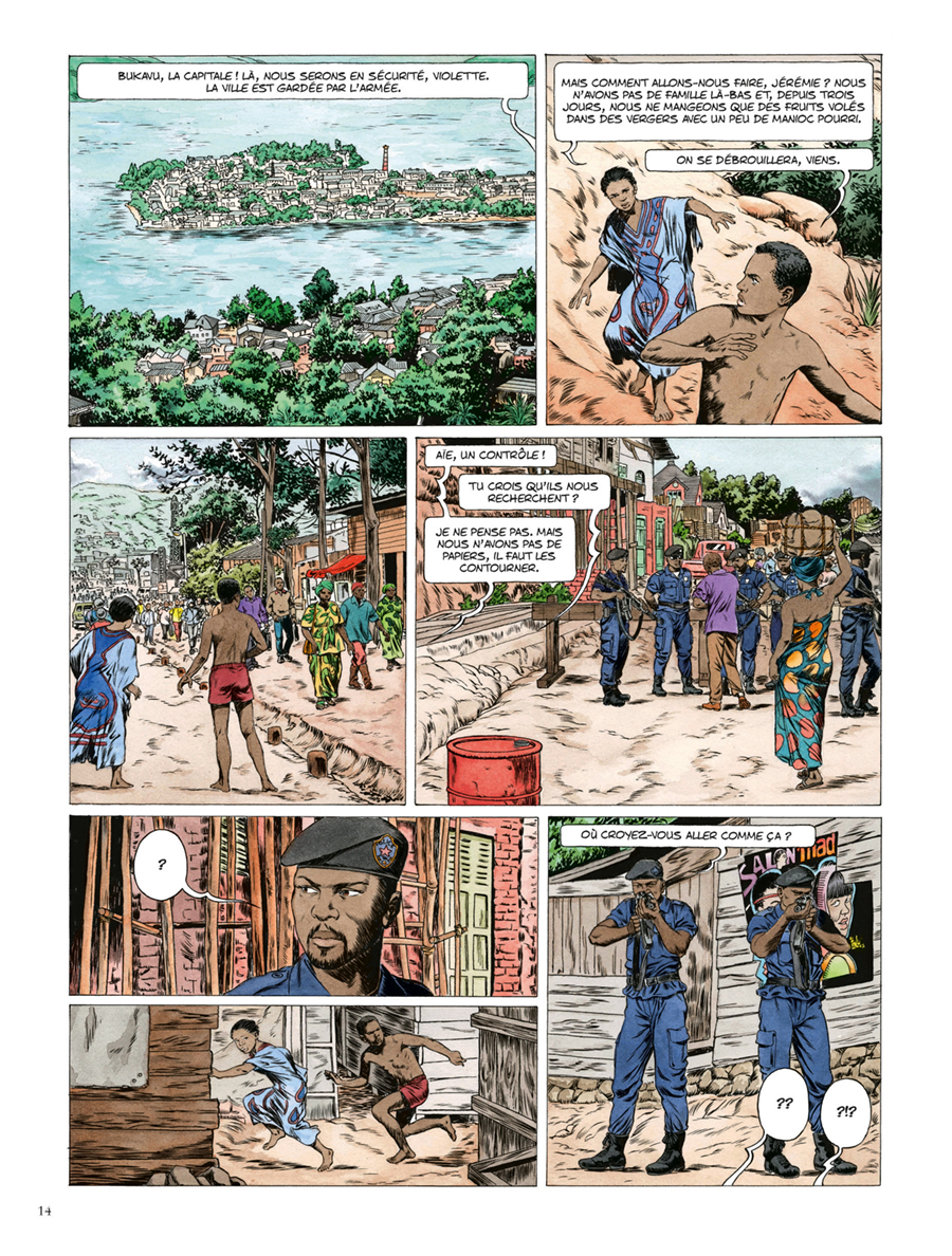 Extrait n°8 de la bd Kivu par Jean Van Hamme