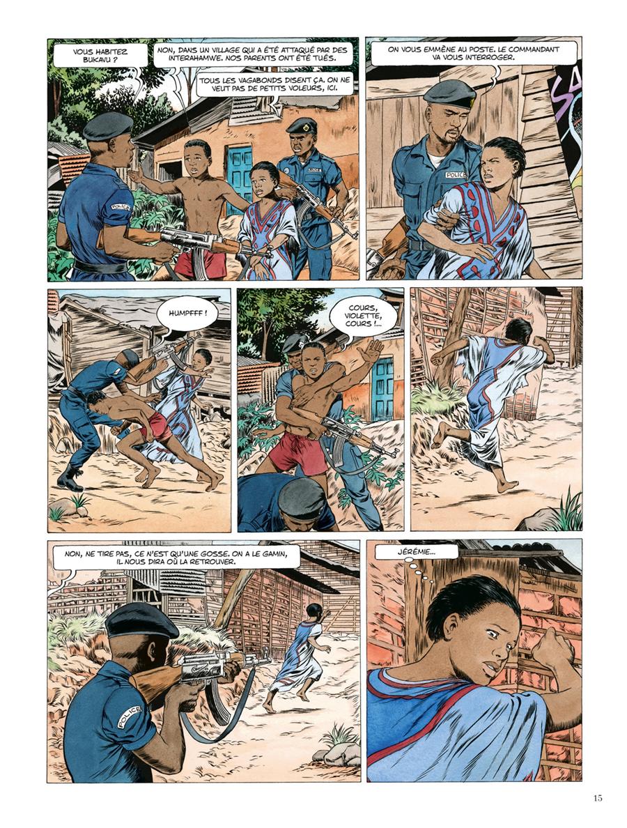 Extrait n°9 de la bd Kivu par Jean Van Hamme