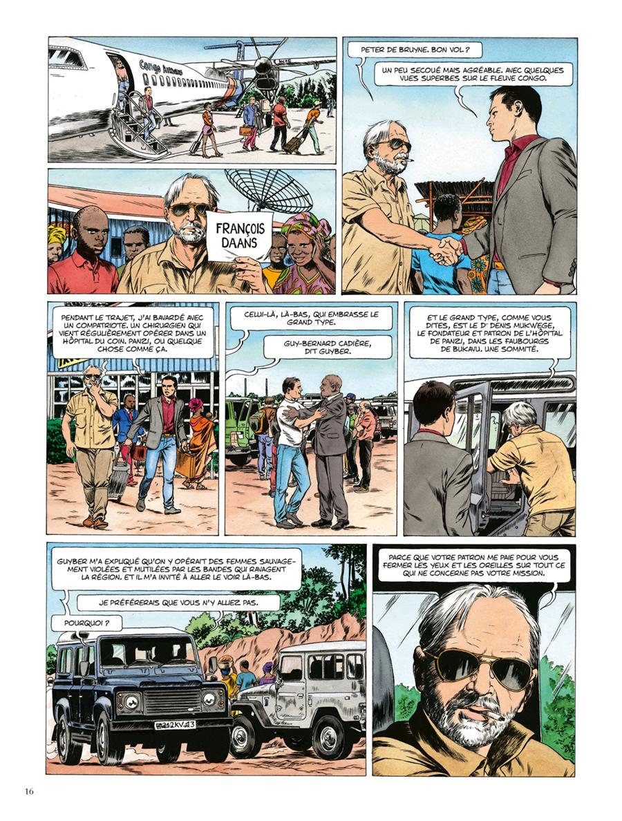 Extrait n°10 de la bd Kivu par Jean Van Hamme