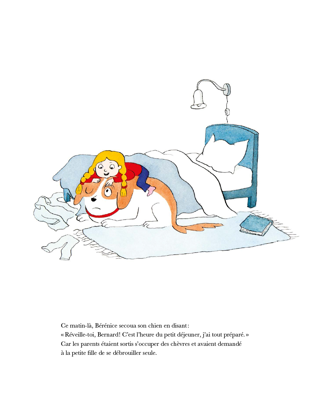 Extrait n°1 de la bd Chien Bernard par Dorothée De Monfreid