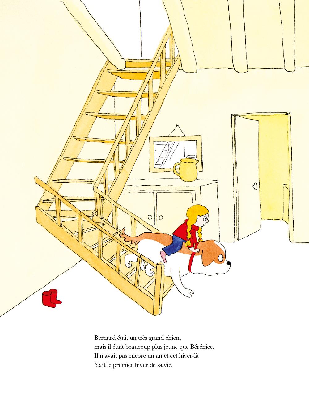 Extrait n°2 de la bd Chien Bernard par Dorothée De Monfreid
