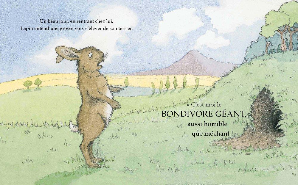 Extrait n°1 de la bd Le Bondivore géant par Julia Donaldson