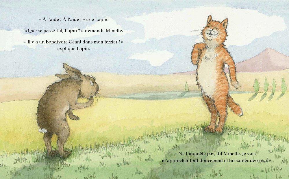 Extrait n°2 de la bd Le Bondivore géant par Julia Donaldson