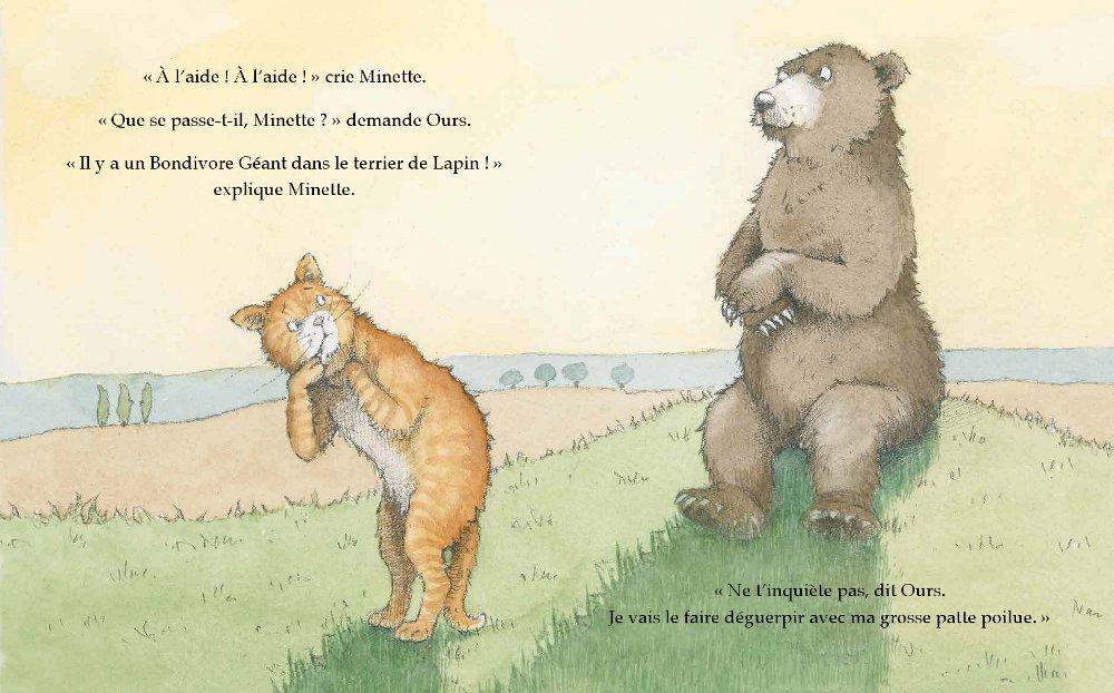 Extrait n°4 de la bd Le Bondivore géant par Julia Donaldson