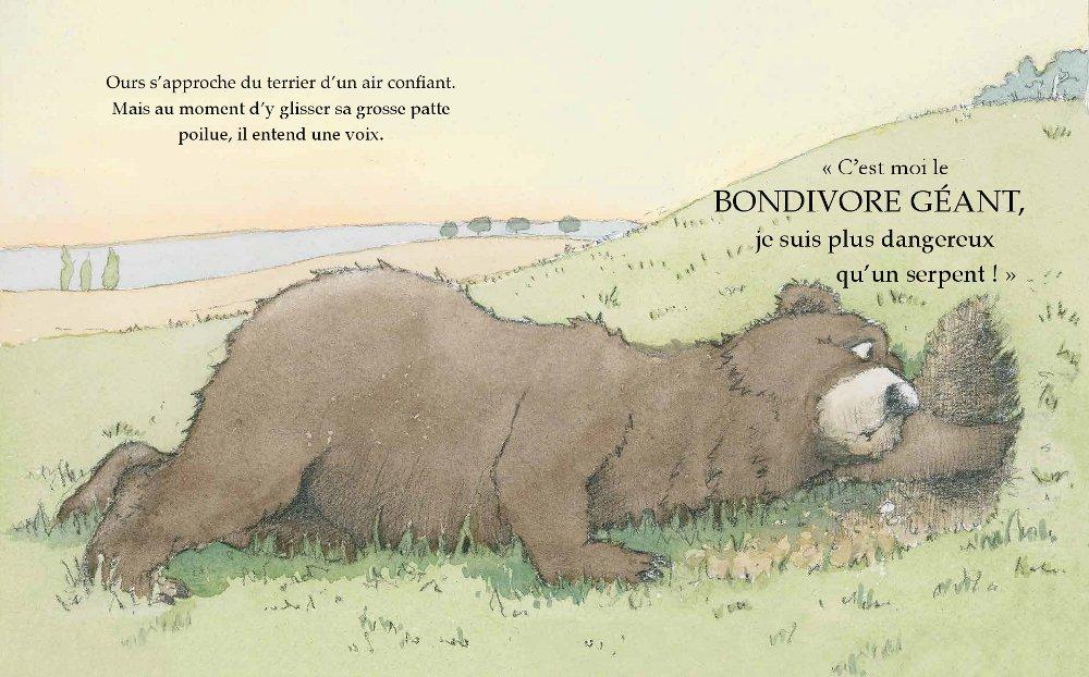 Extrait n°5 de la bd Le Bondivore géant par Julia Donaldson