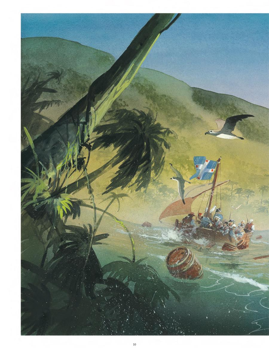 Extrait n°8 de la bd Vanikoro, le mystère Lapérouse  par Patrick Prugne