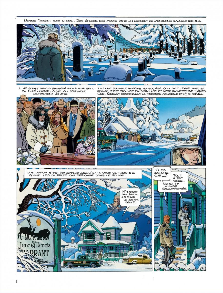 Extrait n°4 de la bd tome 13 par Jean Van Hamme