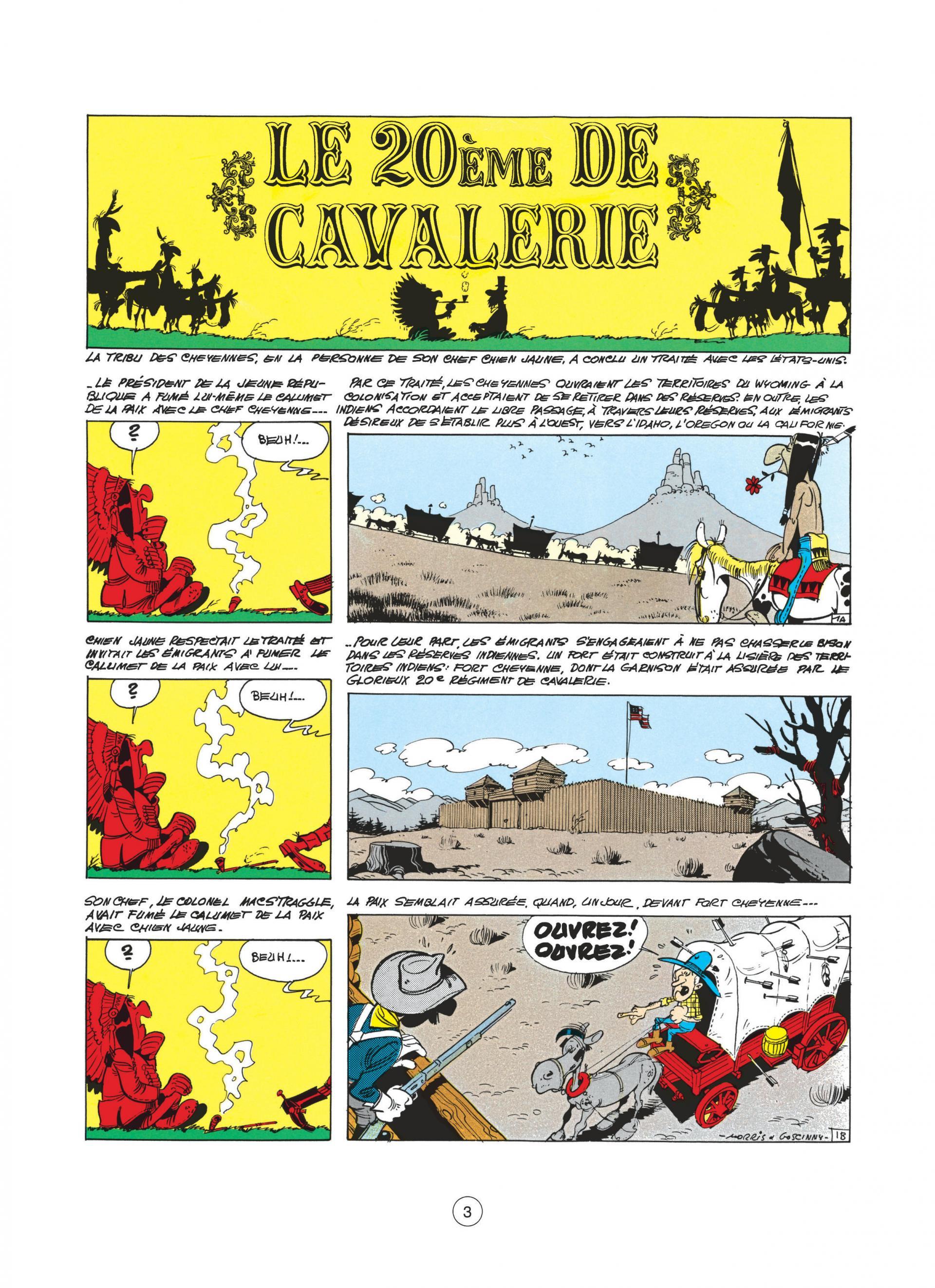 Le vingtième de cavalerie