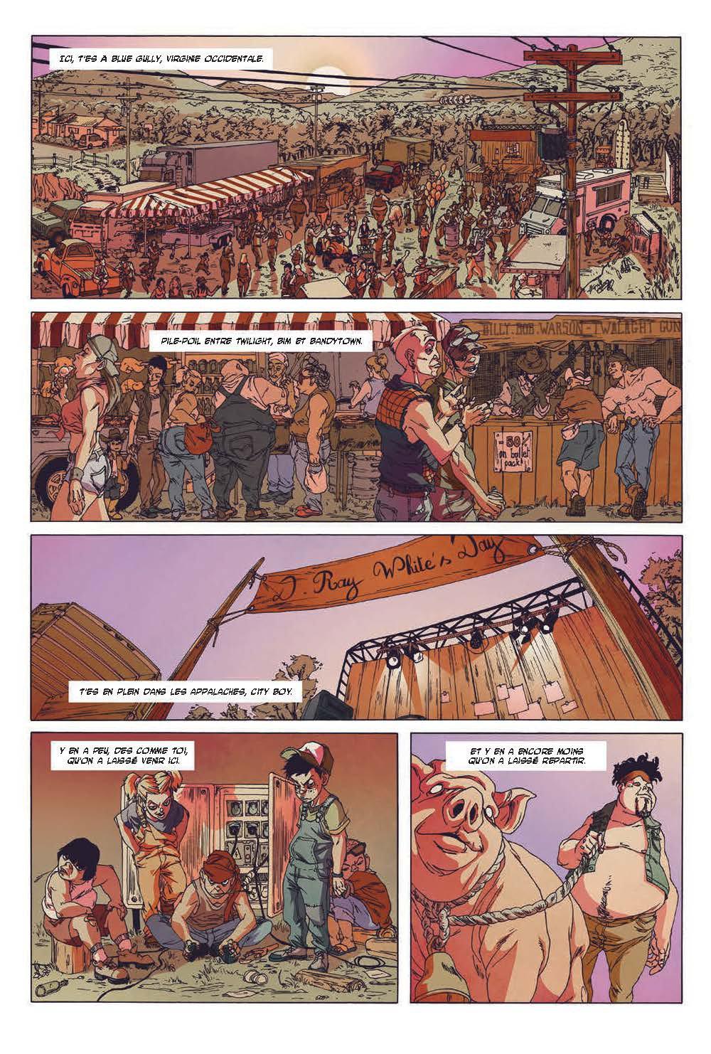 Extrait n°3 du comics tome 3 par Run