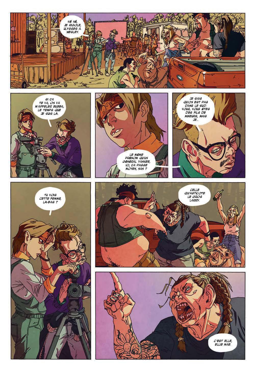 Extrait n°4 du comics tome 3 par Run