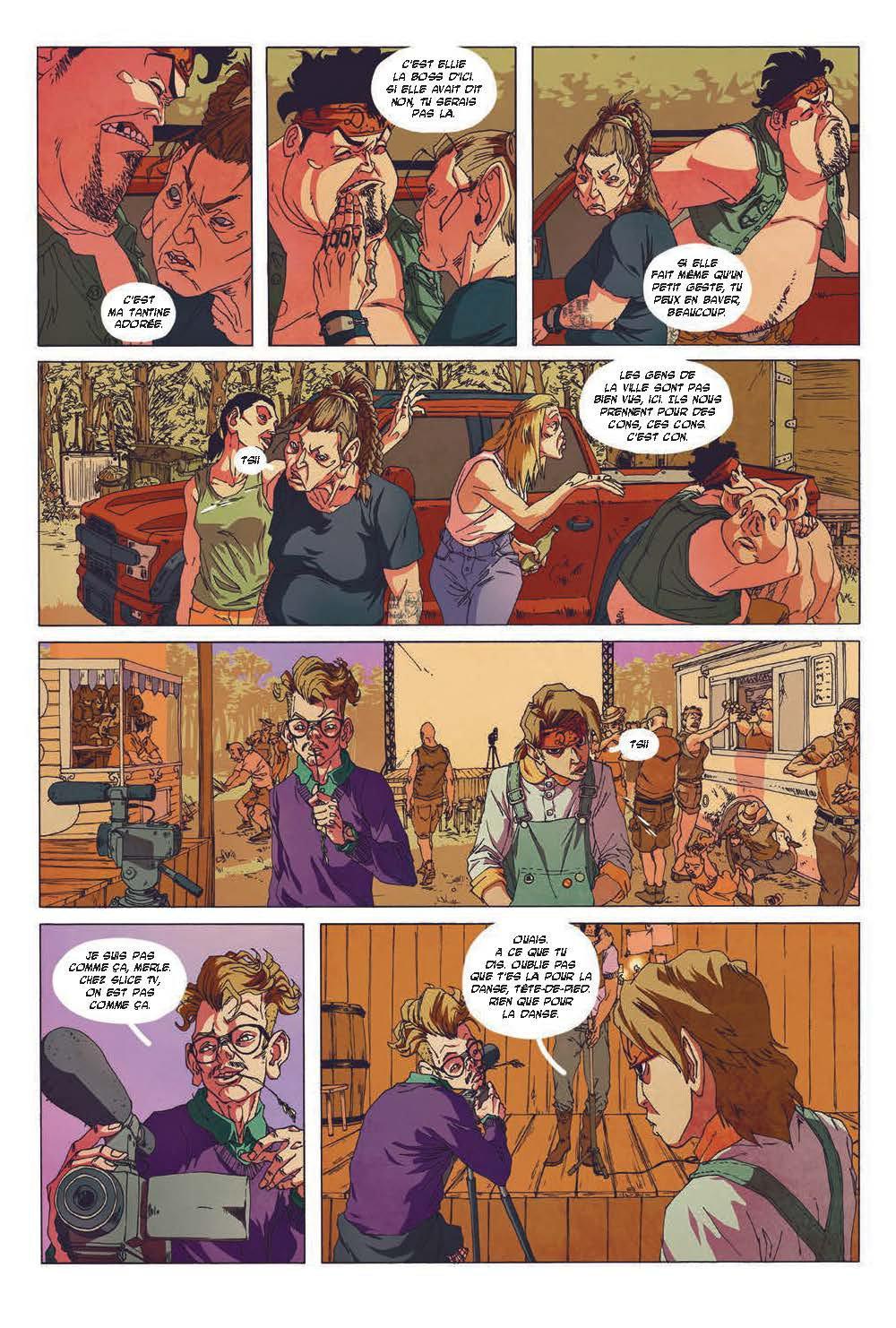 Extrait n°5 du comics tome 3 par Run