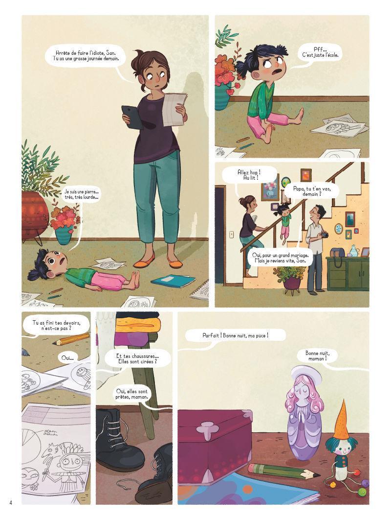 Extrait n°1 de la bd tome 1 par Lorena Alvarez Gomez