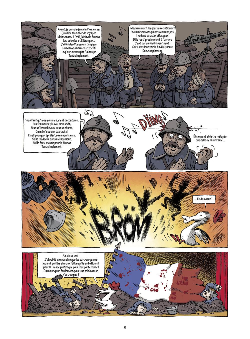 Extrait n°4 de la bd L'incroyable histoire du Canard enchaîné ( édition 2018 ) par Didier Convard