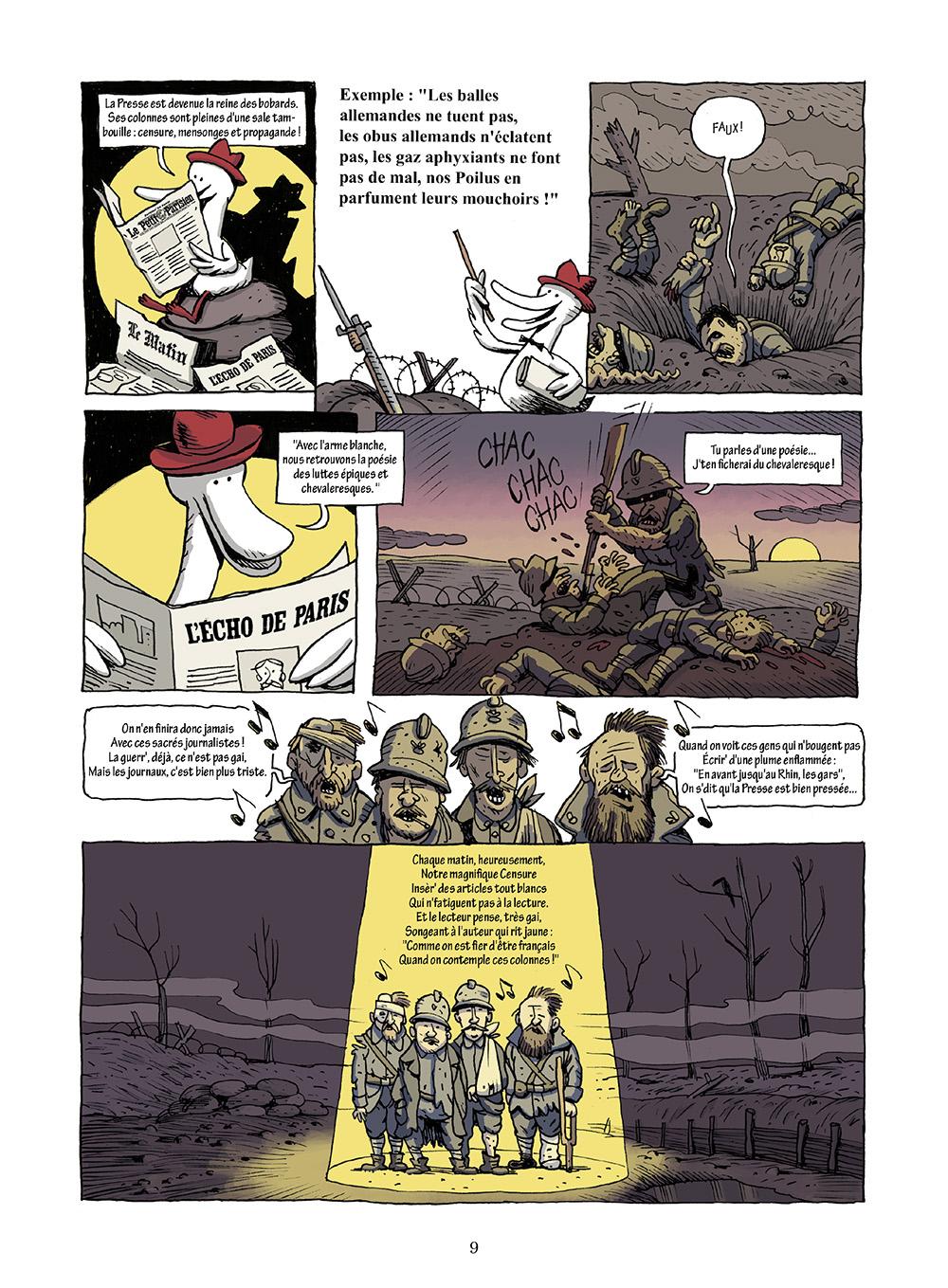 Extrait n°5 de la bd L'incroyable histoire du Canard enchaîné ( édition 2018 ) par Didier Convard