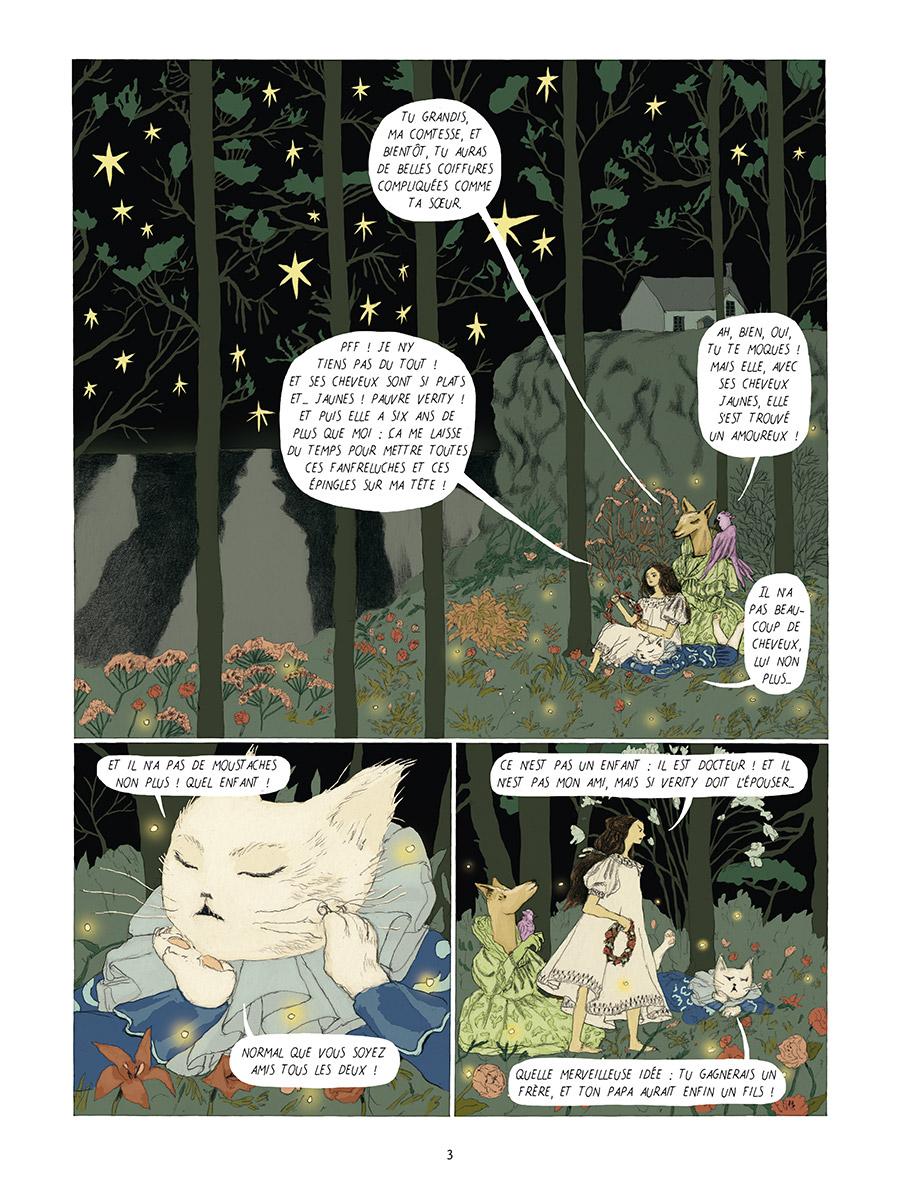 Extrait n°1 Dans la forêt des lilas par Tamia Baudouin