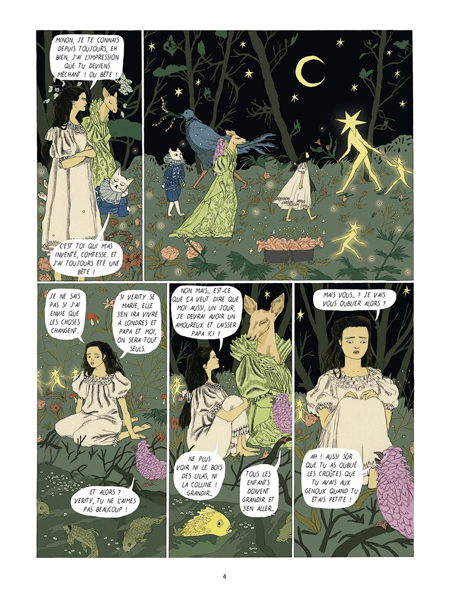 Extrait n°2 Dans la forêt des lilas par Tamia Baudouin