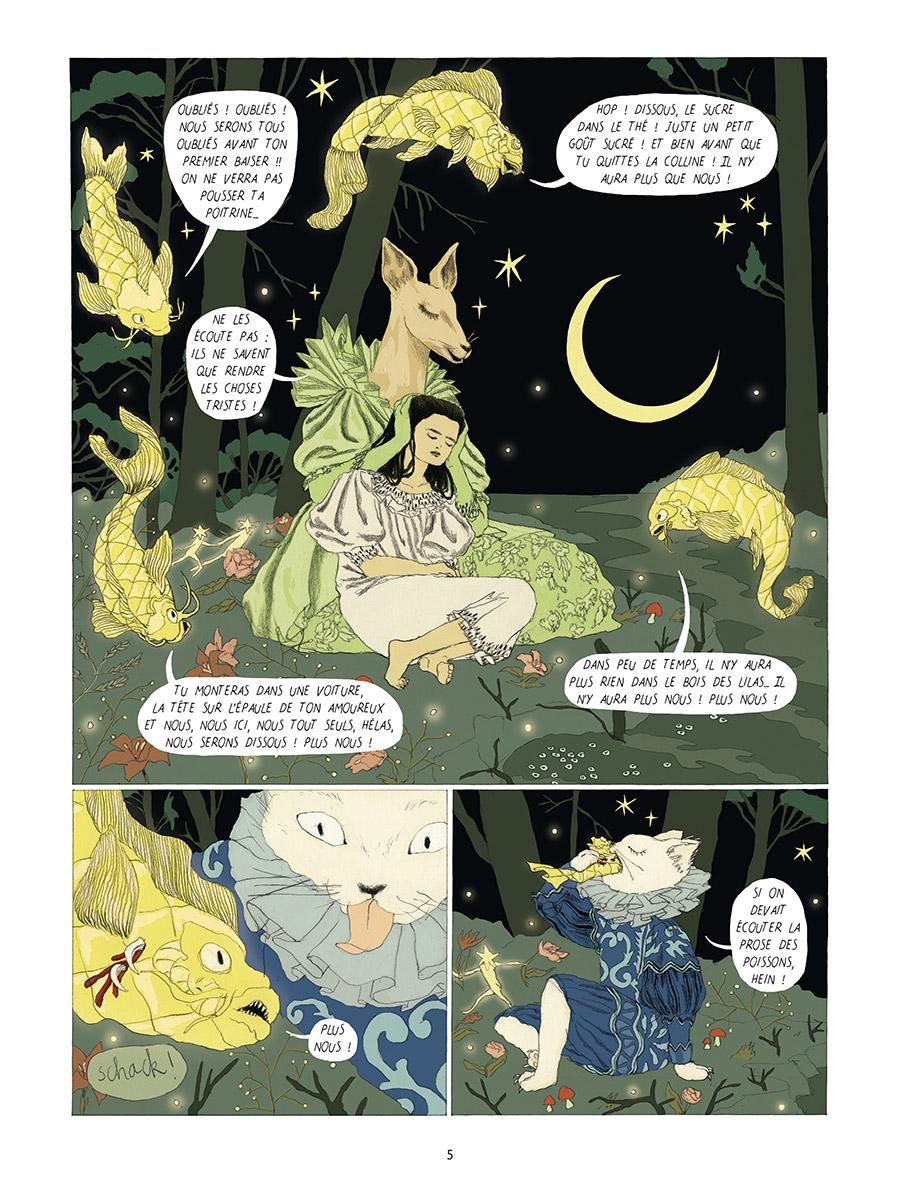 Extrait n°3 Dans la forêt des lilas par Tamia Baudouin