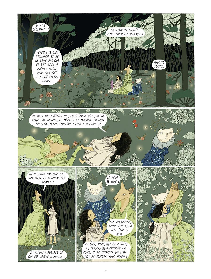 Extrait n°4 Dans la forêt des lilas par Tamia Baudouin