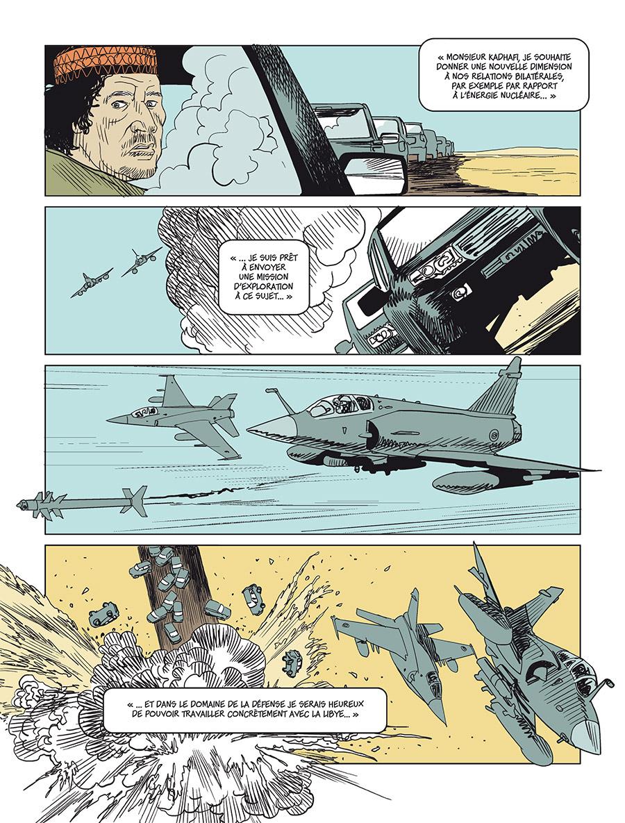Extrait n°2 Sarkozy-Kadhafi par Cécily