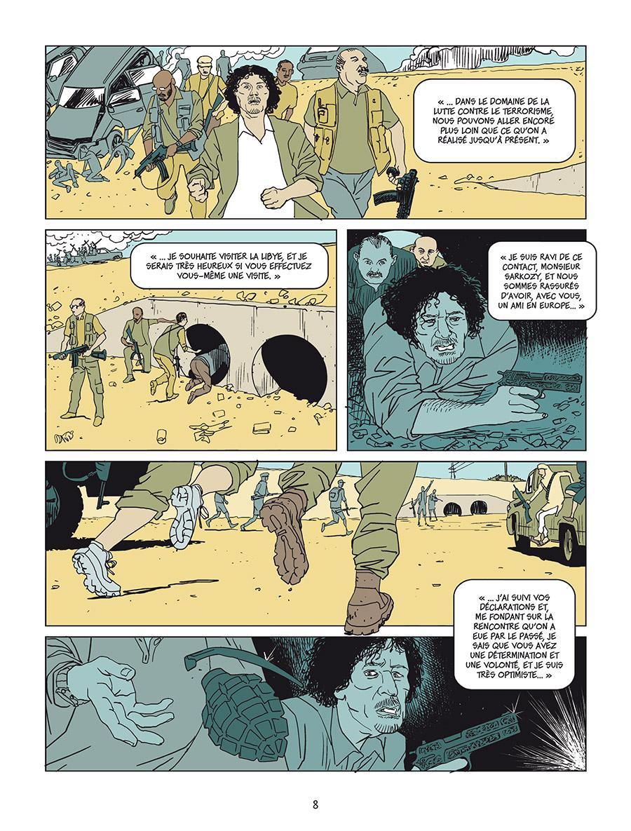 Extrait n°3 Sarkozy-Kadhafi par Cécily