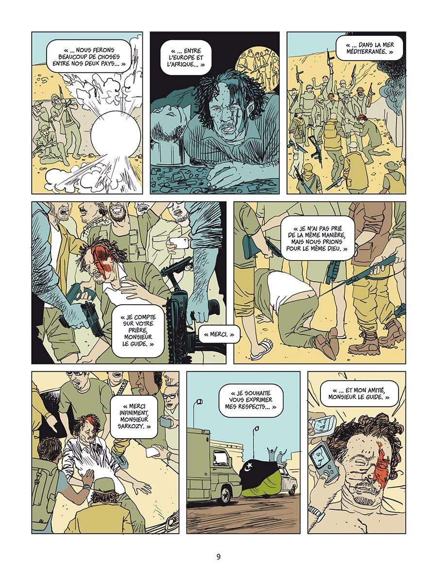 Extrait n°4 Sarkozy-Kadhafi par Cécily