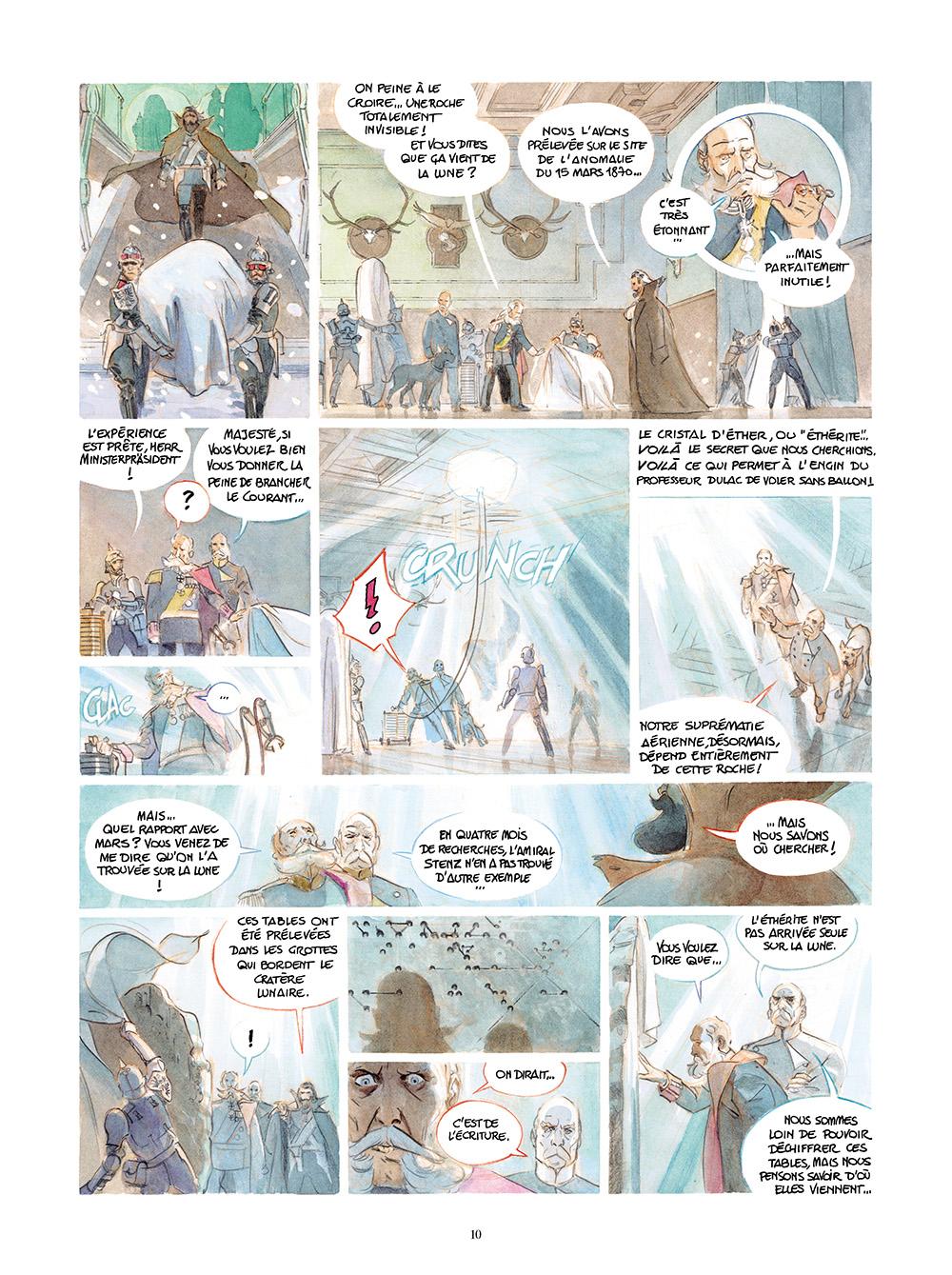 Extrait n°2 de la bd tome 4 par Alex Alice