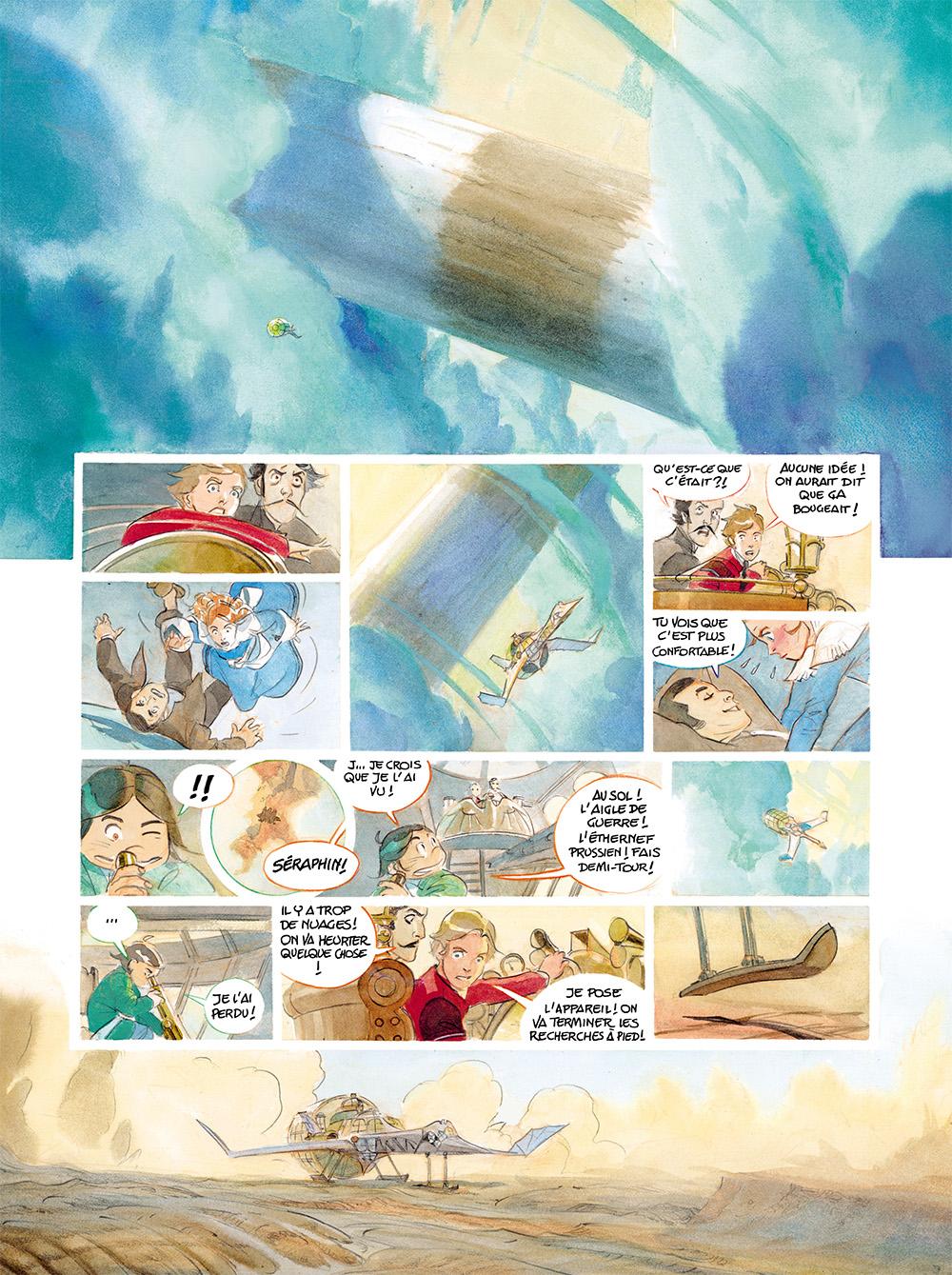 Extrait n°6 de la bd tome 4 par Alex Alice
