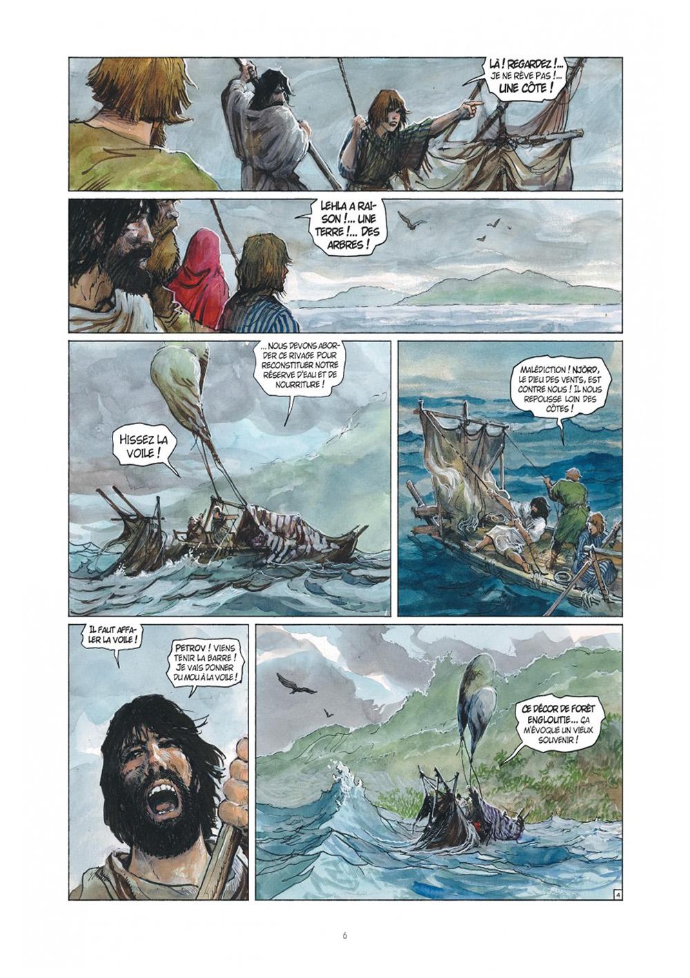 Extrait n°4 de la bd tome 36 par Yann