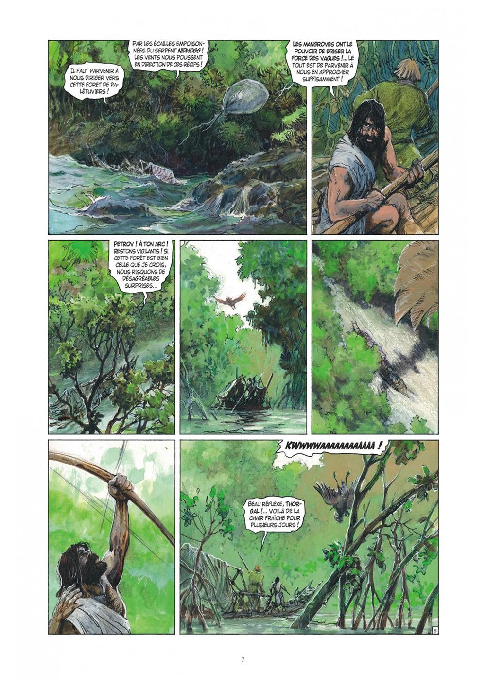 Extrait n°5 de la bd tome 36 par Yann
