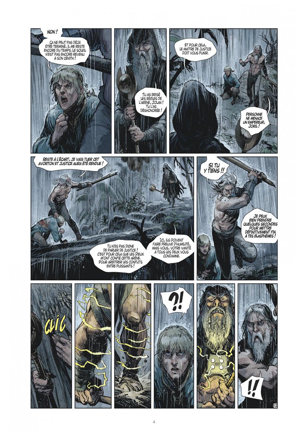Extrait n°2 de la bd tome 8 par Xavier Dorison