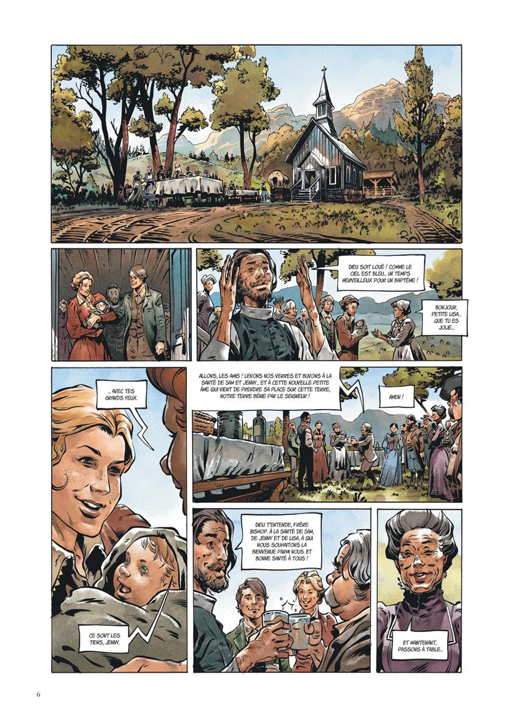 Extrait n°2 de la bd Texas Jack par Pierre Dubois
