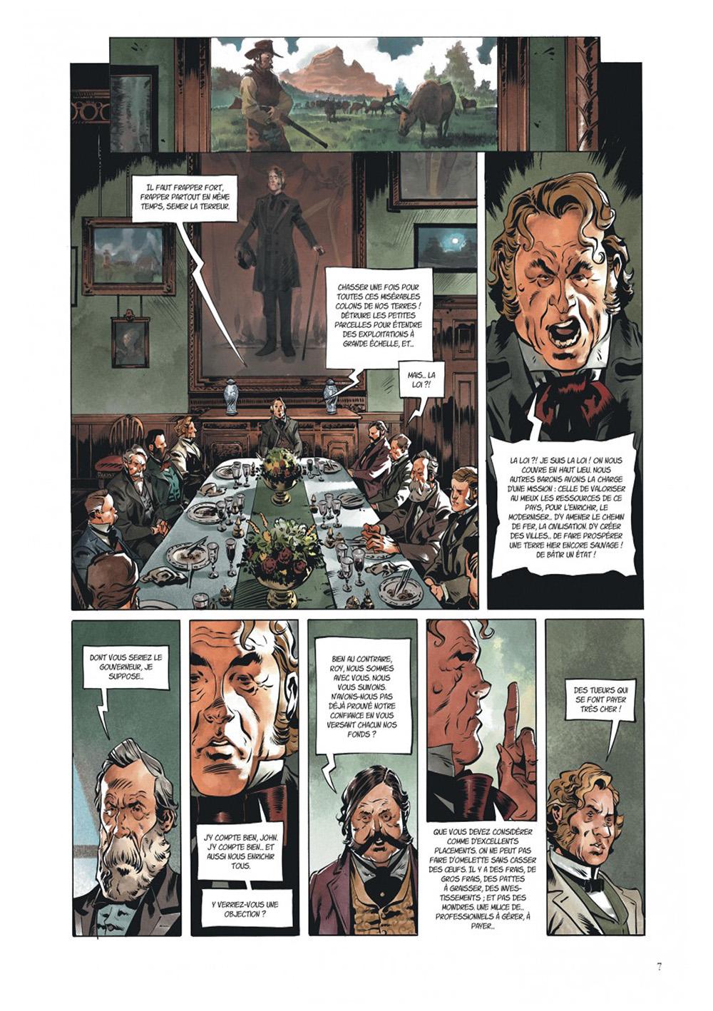 Extrait n°3 de la bd Texas Jack par Pierre Dubois