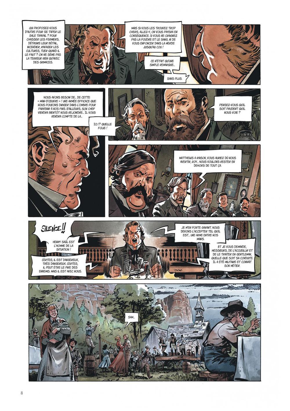 Extrait n°4 de la bd Texas Jack par Pierre Dubois