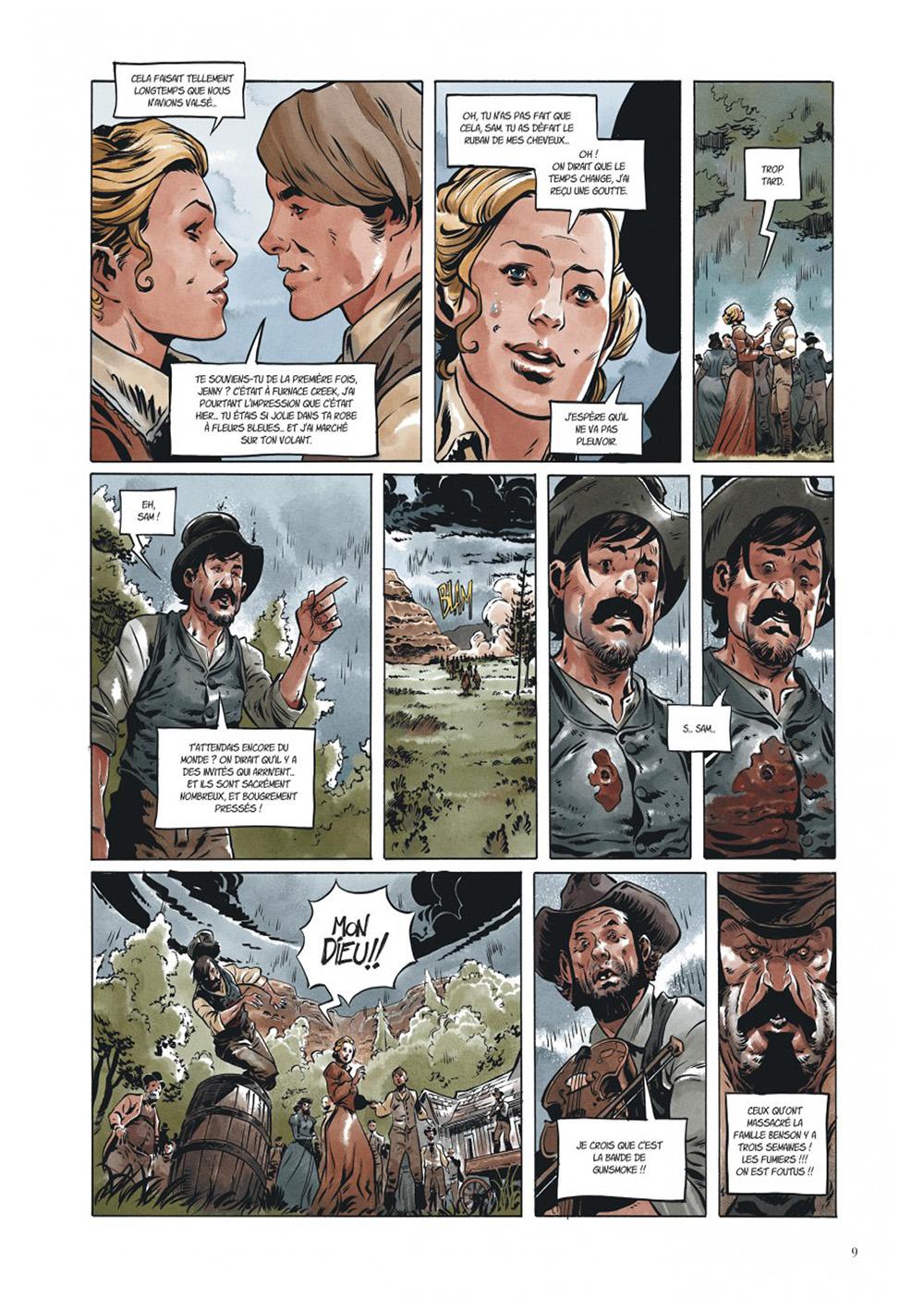 Extrait n°5 de la bd Texas Jack par Pierre Dubois