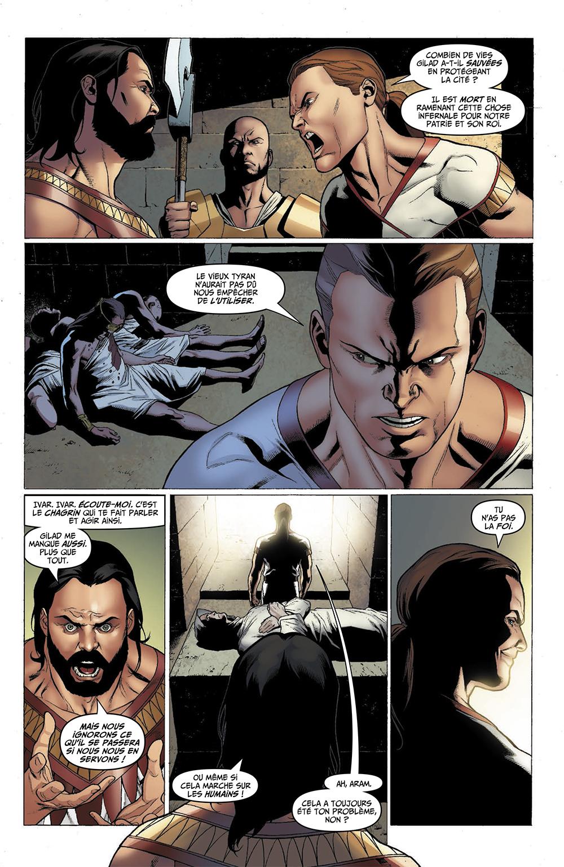Extrait n°3 du comics par Fred Van Lente