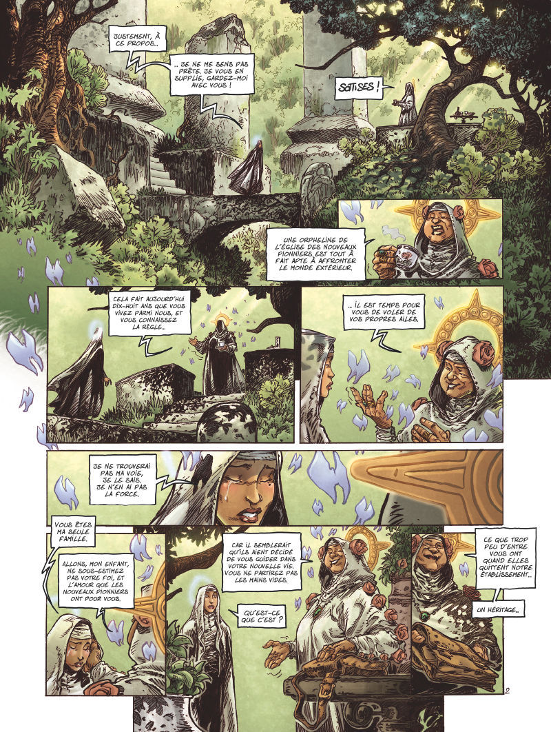 Extrait n°2 de la bd tome 1 par Didier Tarquin
