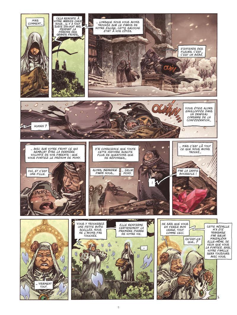 Extrait n°3 de la bd tome 1 par Didier Tarquin
