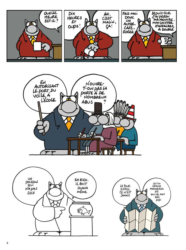 Extrait n°2 de la bd tome 6 par Philippe Geluck