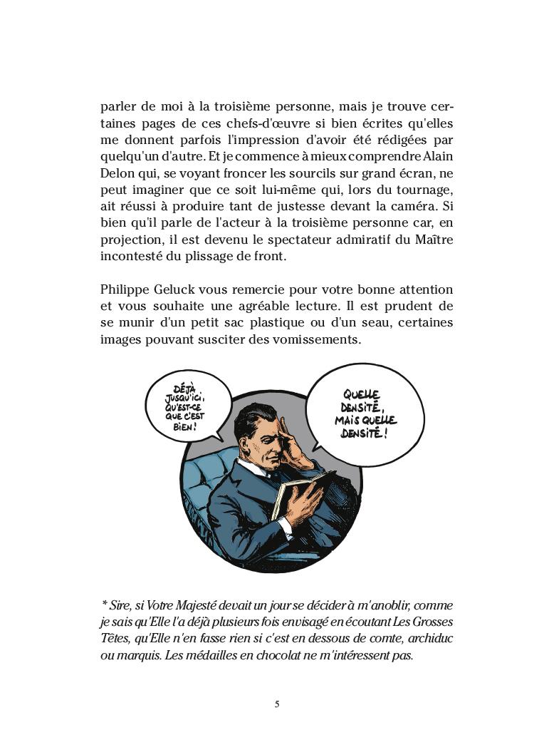 Extrait n°3 de la bd par Philippe Geluck