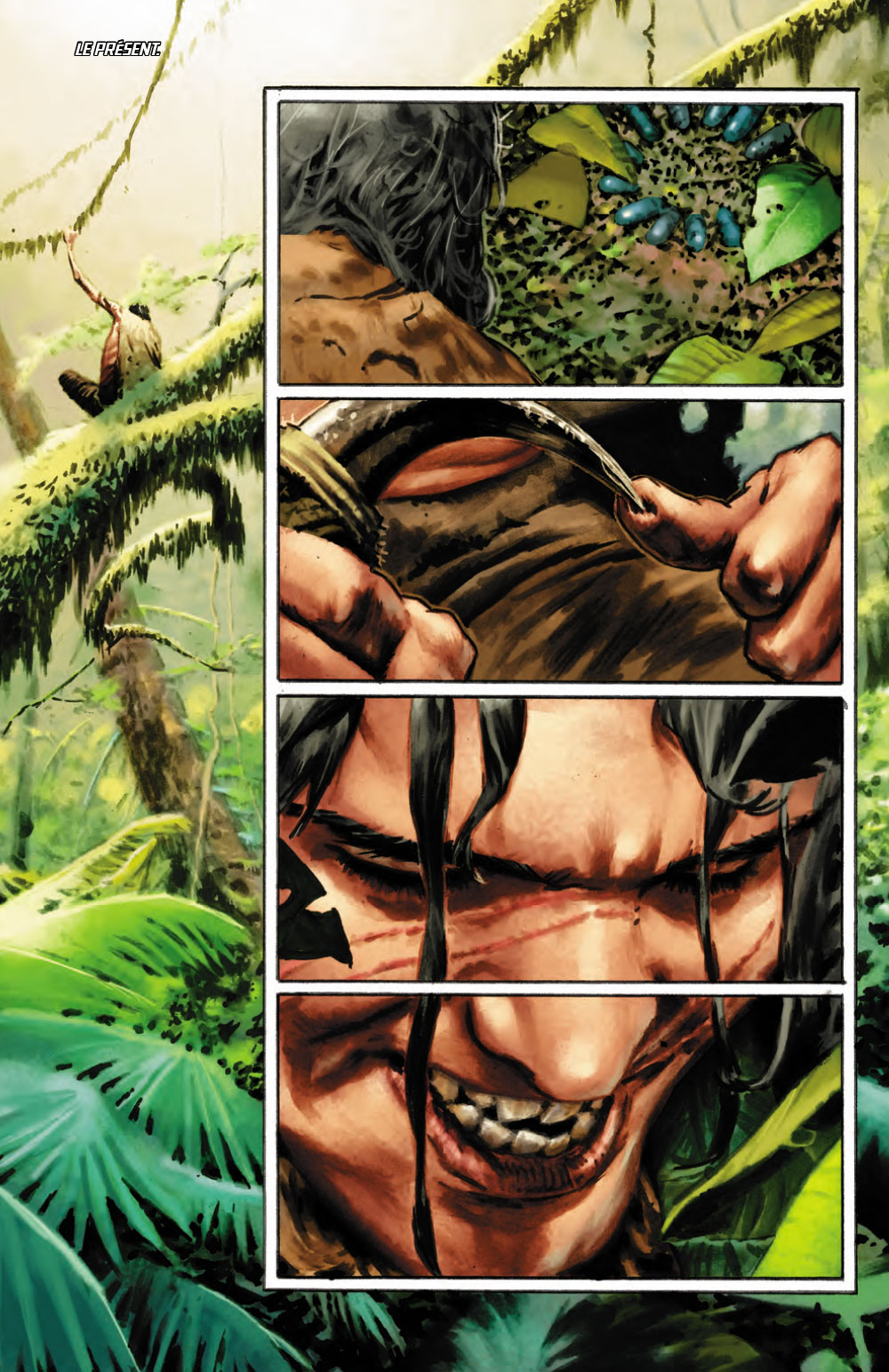 Extrait n°1 du comics Savage (Moore) par Lewis Larosa