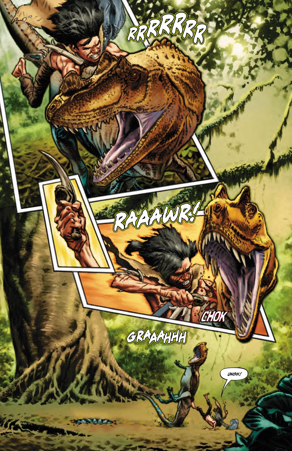 Extrait n°3 du comics Savage (Moore) par Lewis Larosa