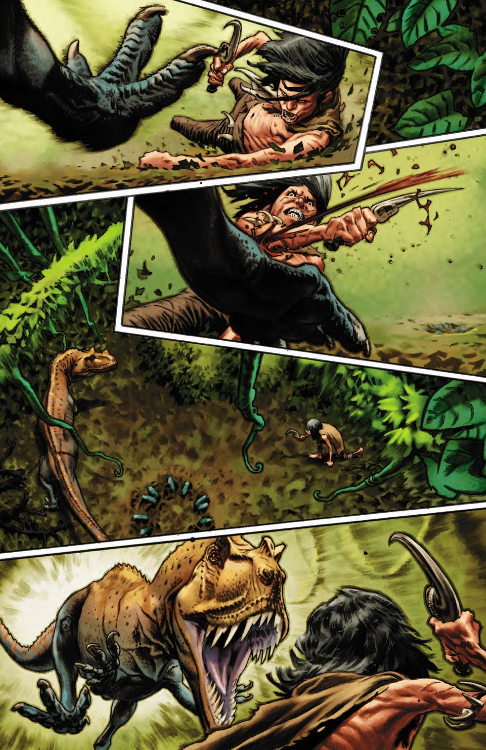Extrait n°4 du comics Savage (Moore) par Lewis Larosa
