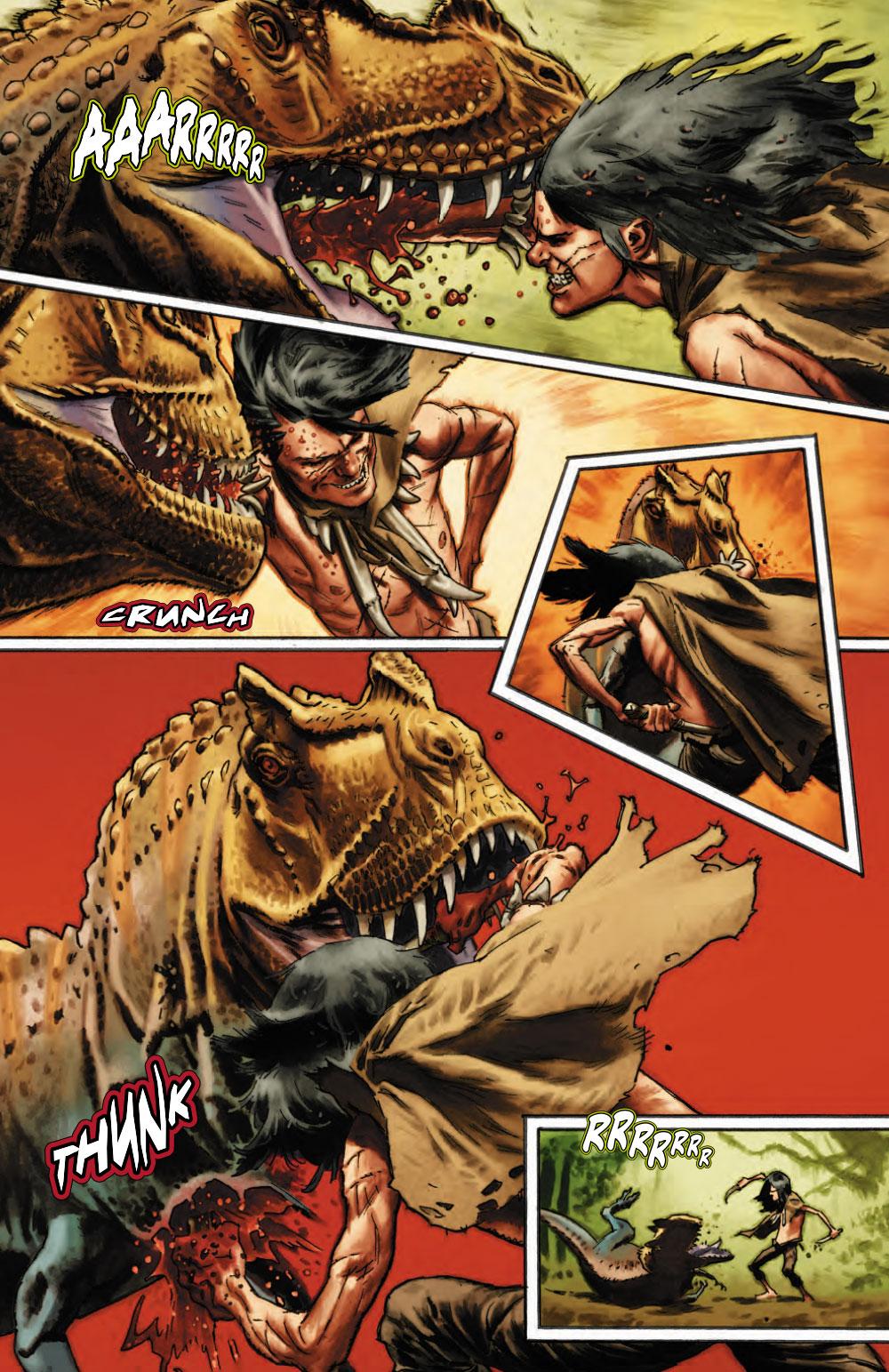 Extrait n°5 du comics Savage (Moore) par Lewis Larosa