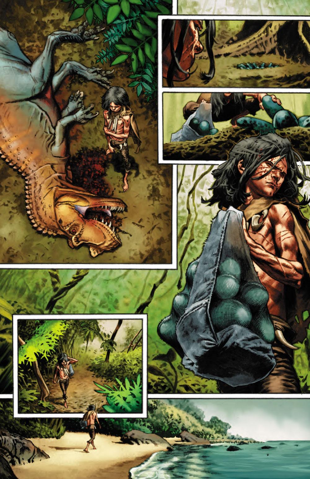 Extrait n°6 du comics Savage (Moore) par Lewis Larosa