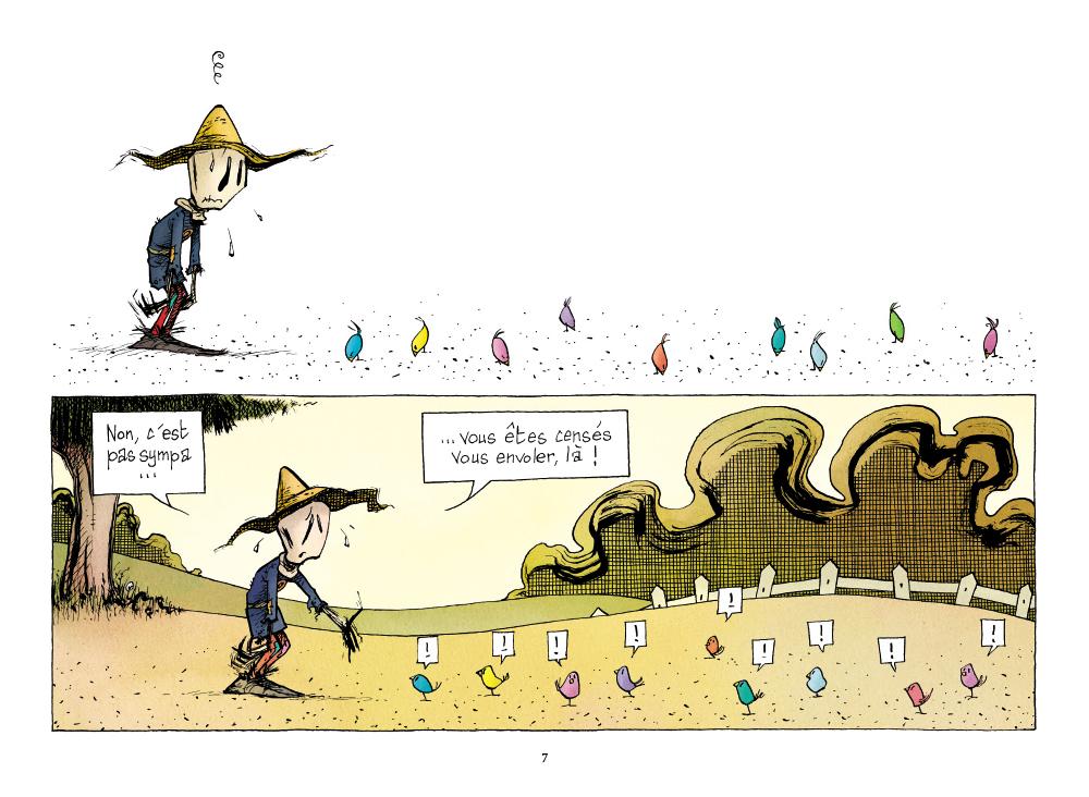 Extrait n°5 de la bd L'Emouvantail par Renaud Dillies
